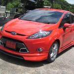 ชุดแต่งรอบคัน Ford Fiesta 4D ทรง NTS1