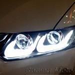 ไฟหน้าแต่ง โปรเจคเตอร์ Honda Civic FB สไตล์ BMW M9