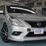 ชุดแต่งรอบคัน Nissan Almera 2014 ทรง SMT