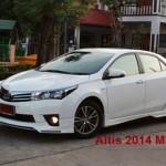ชุดแต่งรอบคัน Toyota Altis 2014 ทรง MDP