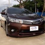 ชุดแต่งรอบคัน Toyota Altis 2014 ทรง SMT