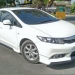 ชุดแต่งรอบคัน Honda Civic FB ทรง MDL 2013