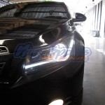 ไฟหน้าแต่ง Chevrolet Cruze แบบ Light Bar Vland V3