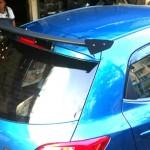 สปอยเลอร์ Mazda 2 Hatchback ทรง Wing แพนโค้ง