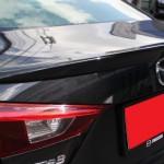 สปอยเลอร์ Mazda 3 4D 2014 ทรงแนบ Ducktail