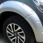 คิ้วล้อ Nissan Navara NP300 ทรง V.2