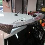 สปอยเลอร์ Suzuki Swift Eco ทรง Wing แพนโค้ง