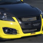 ลิ้นหน้า-หลัง ชุดแต่ง Suzuki Swift Eco Sport ทรง Monster