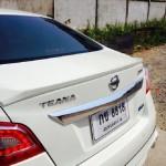 สปอยเลอร์ Nissan Teana 2013 ทรงแนบ Ducktail