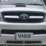 ลิ้นหน้า Toyota Vigo ทรง V.3