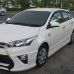 ชุดแต่งรอบคัน Toyota Yaris 2014 ทรง PS V.1