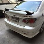 สปอยเลอร์ Toyota Altis 02-06 ทรง TRDD3