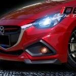 ชุดแต่งรอบคัน Mazda2 2015 Skyactiv 4D ทรง IDEO