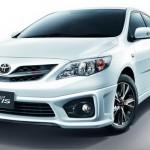 ชุดแต่งรอบคัน Toyota Altis 10 (Minorchange) ทรง TRDD