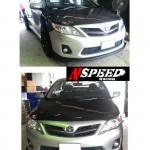 ลิ้นหน้าซิ่ง Toyota New Altis 10 (Minorchange) ทรง N Speed
