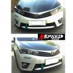 ลิ้นหน้าซิ่ง Toyota Altis 2014 ทรง N Speed