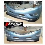 ลิ้นหน้าซิ่ง Mazda BT-50 Pro ทรง N Speed