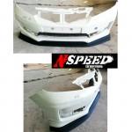 ลิ้นหน้าซิ่ง Honda Jazz GE Minorchange (สำหรับรถ SV) ทรง N Speed