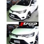 ลิ้นหน้าซิ่ง Toyota New Vios 2013 ทรง N Speed
