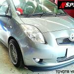 ลิ้นหน้าซิ่ง Toyota Yaris 06 ทรง N Speed