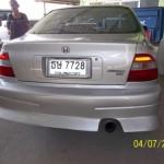 กันชนหลัง Honda Accord 94 ไฟท้ายก้อนเดียว ทรง URAS
