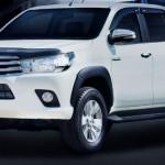 คิ้วล้อ Toyota Hilux Revo ทรง V.1