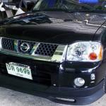 ลิ้นหน้า Nissan Frontier ทรง GTR