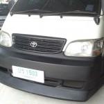 ชุดแต่งรอบคัน Toyota HIACE หัวจรวด ตาเพชร ทรง VIP Voguse