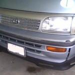 ชุดแต่งรอบคัน Toyota HIACE หัวจรวด ตาเต็ม ทรง V.1