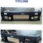 กันชนหน้า Mitsubishi L200 Cyclone ทรง Racing