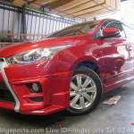 ชุดแต่งรอบคัน Toyota Yaris 2014 ทรง TD Sport V3