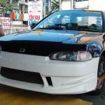กันชนหน้า Honda Civic EG 92 4D ทรง Bomex