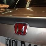 โลโก H แดง สำหรับรถยนต์ Honda