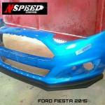 ลิ้นหน้าซิ่ง Ford Fiesta 2014 ทรง N Speed