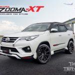 ชุดแต่งรอบคัน Toyota Fortuner 2015 TRD ทรง Vazooma XT
