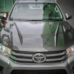 ฝากระโปรงคาร์บอนไฟเบอร์ Toyota Fortuner 2015 ทรง AKANA