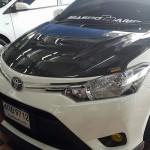 ฝากระโปรงคาร์บอนไฟเบอร์ Toyota New Vios 2013 ทรง AKANA