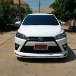 ชุดแต่งรอบคัน Toyota Yaris 2014 ทรง Shark Speed V.2