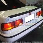 สปอยเลอร์ Honda Accord G4 90 ตาเพชร ทรงแนบ Ducktail