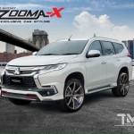 ชุดแต่งรอบคัน Mitsubishi Pajero Sport 2015 ทรง Vazooma