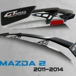 สปอยเลอร์ GT Speed สำหรับ Mazda2 5D