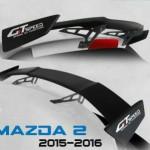 สปอยเลอร์ GT Speed สำหรับ Mazda2 5D Skyactiv