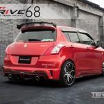 สปอยเลอร์ GT Speed สำหรับ Suzuki Swift Eco