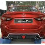 ชุดแต่งรอบคัน Mazda2 2015 Skyactiv 4D ทรง MaxSpeed