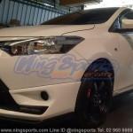 ชุดแต่งรอบคัน Toyota New Vios 2013 ทรง TD Sport V.3