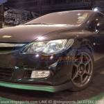 ลิ้นหน้าซิ่ง Honda Civic FD 06 ทรง N Speed