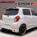สปอยเลอร์ Suzuki Celerio ทรง Sportz