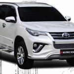 ชุดแต่งรอบคัน Toyota Fortuner 2015 ทรง ZK-II