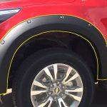 คิ้วล้อ Chevrolet Trailblazer 2016 แบบมีหมุดหลอก ขนาด 6 นิ้ว