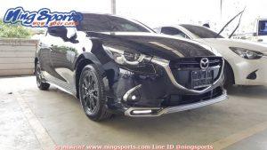 ชุดแต่งรอบคัน Mazda2 2015 Skyactiv 4D-5D ทรง Maze